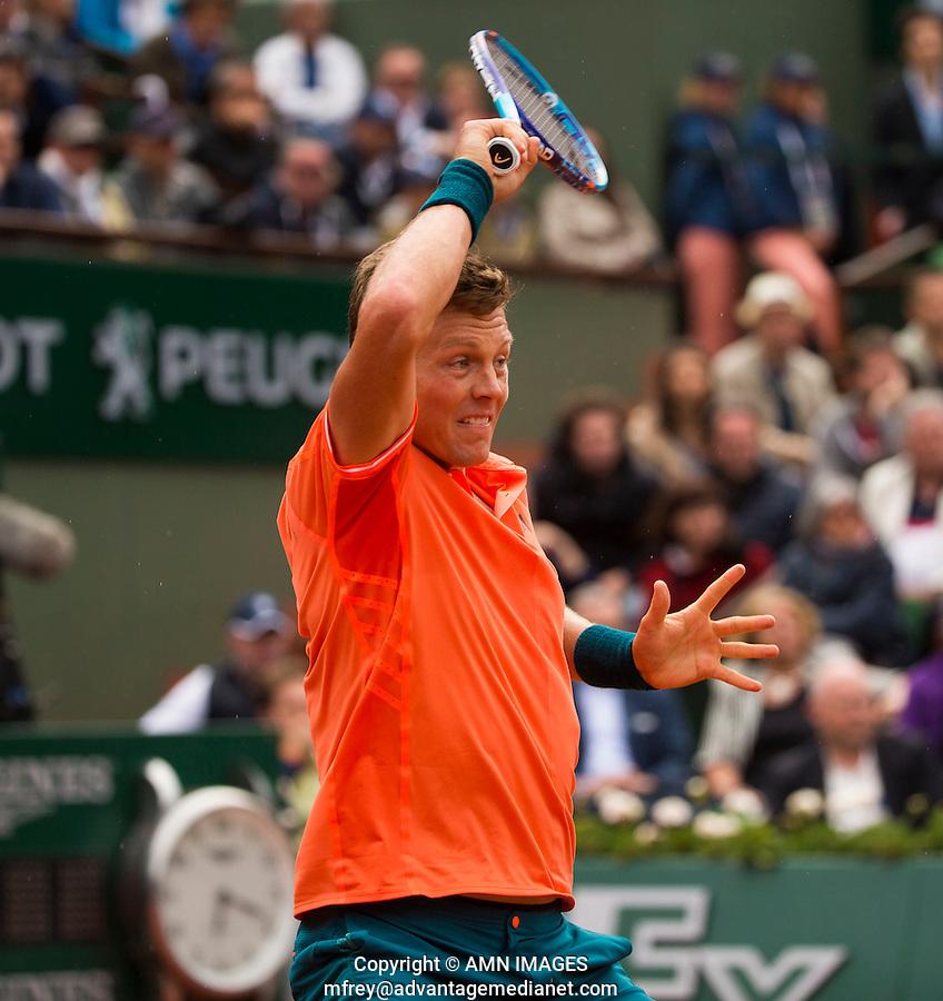 TOMAS BERDYCH (CZE)<br /> <br /> Tennis - French Open 2015 -  Roland Garros - Paris -  ATP-WTA - ITF - 2015  - France <br /> <br /> &copy; AMN IMAGES