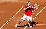 Tenis, DAVIS CUP, World group, first round.SPAIN Vs. SERBIA.David Ferrer Vs. Novak Djokovic.David Ferrer.Benidorm, 03.07.2009..Photo: © Srdjan Stevanovic/Starsportphoto.com