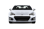 Car photography straight front view of a 2017 Subaru BRZ Limited 2 Door Coupe Front View