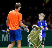 Februari 10, 2015, Netherlands, Rotterdam, Ahoy, ABN AMRO World Tennis Tournament, Vasek Pospisil (CAN) <br /> Photo: Tennisimages/Henk Koster
