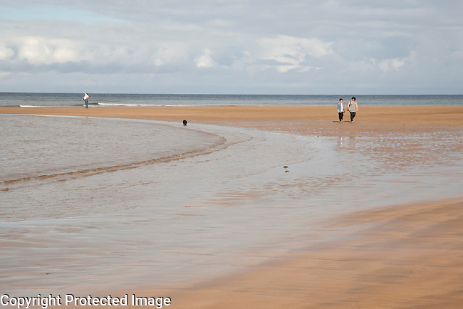 Lekeitio Beach, Basque Country, Spain
