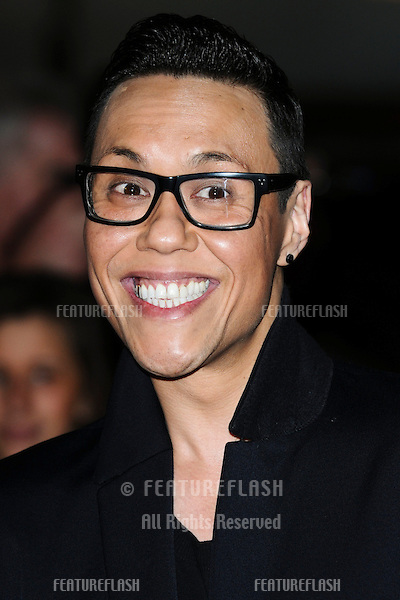 """Gok Wan at the """"John Carter"""" premiere at the BFI South Bank, London. 02/03/2012 Picture by: Steve Vas / Featureflash"""