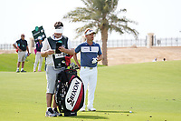 Soren Kjeldsen (DEN) on the 9th during Round 3 of the Saudi International at the Royal Greens Golf and Country Club, King Abdullah Economic City, Saudi Arabia. 01/02/2020<br /> Picture: Golffile | Thos Caffrey<br /> <br /> <br /> All photo usage must carry mandatory copyright credit (© Golffile | Thos Caffrey)