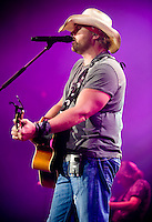 Country music star Toby Keith (cq) performs at the Superpages.com Center in Dallas, Texas, at 9:34PM, Friday September 5, 2008...PHOTOS/  MATT NAGER