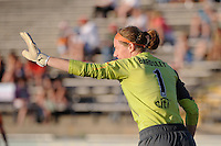 Sky Blue FC goalkeeper Karen Bardsley (1). The Philadelphia Independence defeated Sky Blue FC 2-1 during a Women's Professional Soccer (WPS) match at John A. Farrell Stadium in West Chester, PA, on June 6, 2010.