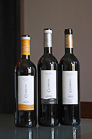 roble 2006, crianza 2005, reserva 2005 calderona bodegas frutos villar , cigales spain castile and leon