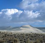 Sand mountain near Fallon, Nevada