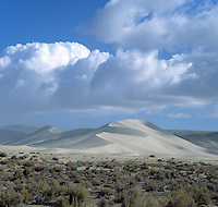 Sand mountain near Fallon, Nevada