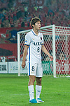 Kashima Midfielder Doi Shoma during the AFC Champions League 2017 Round of 16 match between Guangzhou Evergrande FC (CHN) vs Kashima Antlers (JPN) at the Tianhe Stadium on 23 May 2017 in Guangzhou, China. (Photo by Power Sport Images/Getty Images)