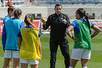 Bridgeview, IL - Saturday April 22, 2017: Vlatko Andonovski during a regular season National Women's Soccer League (NWSL) match between the Chicago Red Stars and FC Kansas City at Toyota Park.