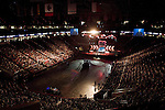 "Sunday, June 24, Raleigh, North Carolina..California evangelist Greg Laurie, brought his ""Harvest Crusade"" to the RBC Center in Raleigh, NC for 3 days of music. prayer and Christian evangelism. Laurie brought together 200 local churches to sponsor the event which used 3000 volunteers and hopes to convert many newcomers to his version of born again Christianity."