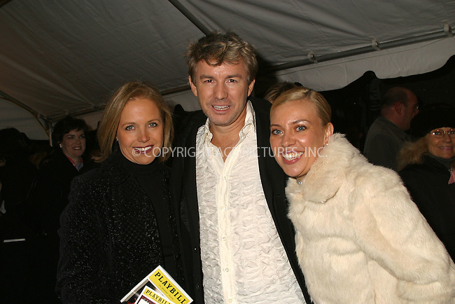 "Katie Couric, Catherine Martin and Baz Luhrmann at the opening of ""La Boheme"" on Broadway. New York, December 8, 2002. Please byline: Alecsey Boldeskul/NY Photo Press.   ..*PAY-PER-USE*      ....NY Photo Press:  ..phone (646) 267-6913;   ..e-mail: info@nyphotopress.com"