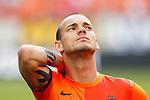 Nederland, Amsterdam, 26 mei 2012.Oefeninterland .Nederland-Bulgarije.Wesley Sneijder van Nederland