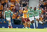 19.05.2018 Scottish Cup Final Celtic v Motherwell: Oliver Ntcham celebrates his goal