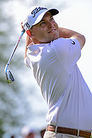Bill Haas (USA) watches his tee shot on 7 during round 6 of the World Golf Championships, Dell Technologies Match Play, Austin Country Club, Austin, Texas, USA. 3/26/2017.<br /> Picture: Golffile | Ken Murray<br /> <br /> <br /> All photo usage must carry mandatory copyright credit (&copy; Golffile | Ken Murray)