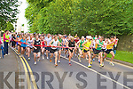 The runners head off on the start of the 5k Killarney Summerfest Fun Run on Friday evening.....