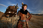 Kazakh in Mongolia use eagles to hunt for their food by Alessandra Meniconzi