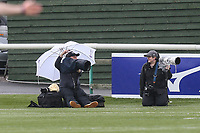 Photographers during the British & Irish Cup Final match between Ealing Trailfinders and Leinster Rugby at Castle Bar, West Ealing, England  on 12 May 2018. Photo by David Horn / PRiME Media Images.