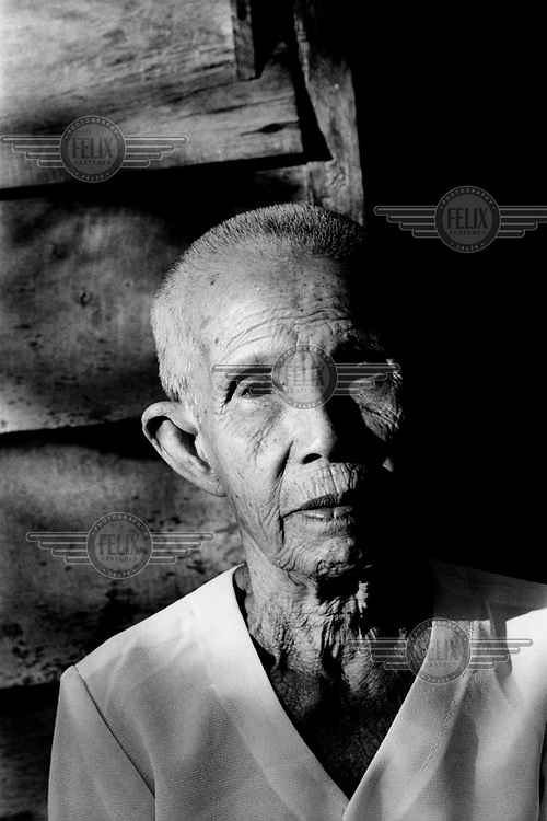 Kaing Siew Kim, Comrade Duch's mother. Duch (real name Kaing Guek Eav) was chief executioner of the Khmer Rouge, responsible for the S-21 detention centre at Tuol Sleng, where over 16,000 people were killed between 1975 and 1979. Photographer Nic Dunlop unearthed Duch working with the American Refugee Committee in 1999. He is currently awaiting trial.