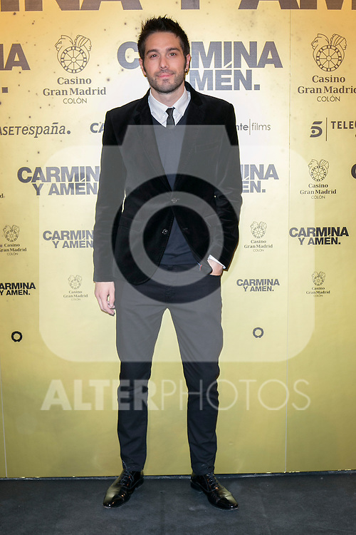 "Spanish actor Dani Martinez attend the Premiere of the movie ""Carmina y Amen"" at the Callao Cinema in Madrid, Spain. April 28, 2014. (ALTERPHOTOS/Carlos Dafonte)"