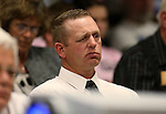 Ryan Bundy listens to committee testimony at the Legislative Building in Carson City, Nev., on Tuesday, March 31, 2015. <br /> Photo by Cathleen Allison