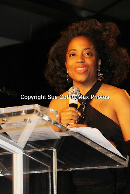 "Another World's Rhonda Ross at The Fourteenth Annual Hearts of Gold Gala ""Hooray for Hollywood!"" - with its mission to foster sustainable change in lifestyle and levels of self-sufficiency for homeless mothers and their children on October 28, 2010 at the Metropolitan Pavillion, New York City, New York. (Photo by Sue Coflin/Max Photos)"