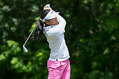 28th May 2017, Ann Arbor, MI, USA;  Sherman Santiwiwatthanaphong, of Thailand, watches her tee shot on the seventh hole during the final round of the LPGA Volvik Championship on May 28, 2017 at Travis Pointe Country Club in Ann Arbor, Michigan.