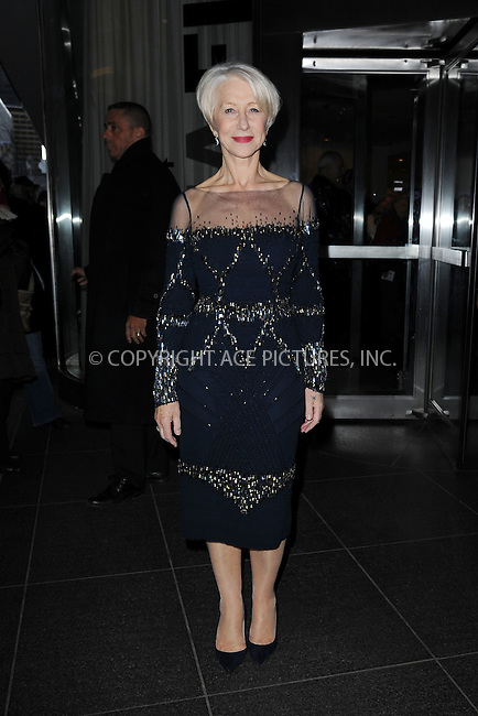 WWW.ACEPIXS.COM<br /> March 30, 2015 New York City<br /> <br /> Helen Mirren attending Woman in Gold Screening at the MoMa on March 30, 2015 in New York City. <br /> <br /> By Line: Kristin Callahan/ACE Pictures<br /> ACE Pictures, Inc.<br /> tel: 646 769 0430<br /> Email: info@acepixs.com<br /> www.acepixs.com