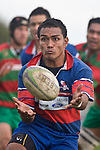 Sio Petelo. Counties Manukau Premier rugby game between Waiuku & Ardmore Marist played at Waiuku on Saturday May 10th 2008..Ardmore Marist won 27 - 6 after leading 10 - 6 at halftime.