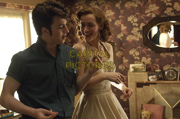 Aaron Taylor-Johnson, Anne-Marie Duff<br /> in Nowhere Boy (2009) <br /> *Filmstill - Editorial Use Only*<br /> CAP/NFS<br /> Image supplied by Capital Pictures
