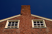 Architectural details of building at Shaker Village of Pleasant Hill, Kentucky