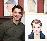 Corey Cott during the Corey Cott Sardi's Portrait unveiling at Sardi's Restaurant on August 11, 2017 in New York City.
