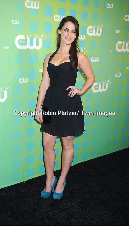 """Jessica Lowndes of """"90210"""" attends The CW Network's 2012 Upfront Presentation on May 17, 2012 at New York City Center in New York."""