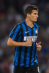 Marco Andreolli of FC Internazionale Milano looks on during the AC Milan vs FC Internazionale Milano as part of the International Champions Cup 2015 at the Longgang Stadium on 25 July 2015 in Shenzhen, China. Photo by Aitor Alcalde / Power Sport Images