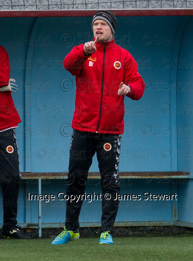 Stenny caretaker manager Brown Ferguson.
