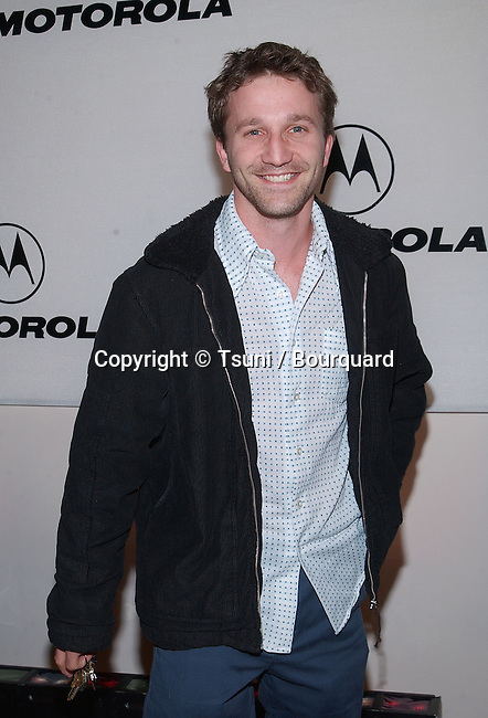Breckin Meyer arriving at the Motorola 3rd annual party, Toys for Tots at the Highland at Highland and Hollywood in Los Angeles. December 6, 2001.           -            MeyerBreckin45.jpg