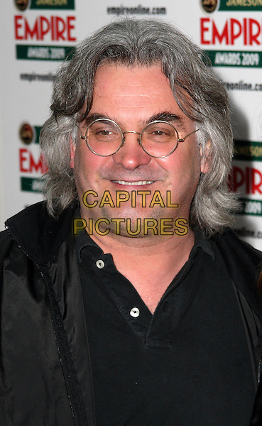 PAUL GREENGRASS .Jameson Empire Film Awards at the Grosvenor House Hotel, Park Lane, London, England..March 29th, 2009.headshot portrait black glasses  .CAP/JIL.©Jill Mayhew/Capital Pictures