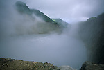 The world's second largest boiling lake on Dominica