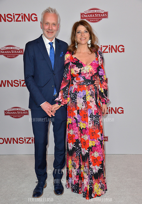 Ingjerd Egeberg &amp; Geir Bergkastet at the special screening of &quot;Downsizing&quot; at the Regency Village Theatre, Westwood, USA 18 Dec. 2017<br /> Picture: Paul Smith/Featureflash/SilverHub 0208 004 5359 sales@silverhubmedia.com