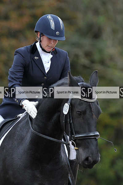 Class 4. Novice 38. British Dressage. Brook Farm training centre. Essex. 29/09/2017. MANDATORY Credit Garry Bowden/Sportinpictures - NO UNAUTHORISED USE - 07837 394578