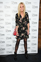 Nicola Hughes arriving for the Natural History Museum Ice Rink launch party 2017, London, UK. <br /> 25 October  2017<br /> Picture: Steve Vas/Featureflash/SilverHub 0208 004 5359 sales@silverhubmedia.com