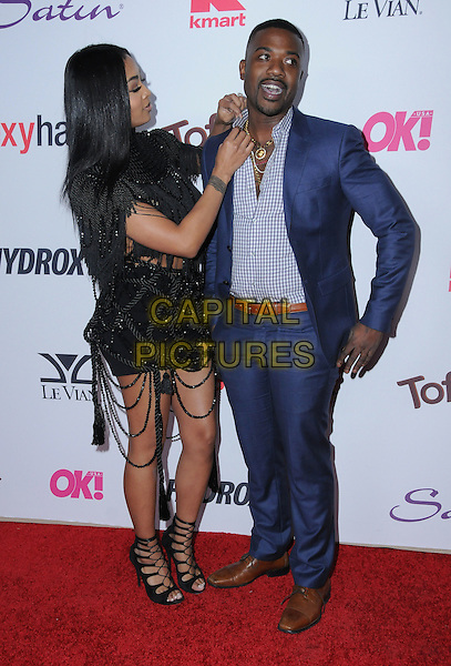 22 February 2017 - West Hollywood, California - Princess Love Norwood, Ray J.  2017 OK! Magazine's Pre-Oscar Event held at Nightingale Plaza. <br /> CAP/ADM/BT<br /> &copy;BT/ADM/Capital Pictures