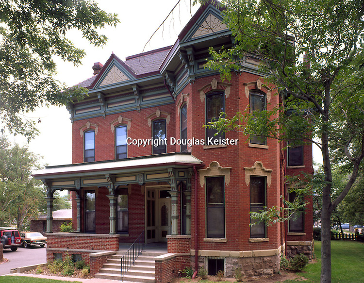 The Gebhard Mansion.2253 Downing St.Denver, CO