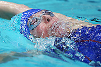 PICTURE BY VAUGHN RIDLEY/SWPIX.COM - Swimming - ASA Masters and Senior Age Group Championships 2012 - Ponds Forge, Sheffield, England - 27/10/12 - Amanda Heath competes in the Women's 100m Backstroke.