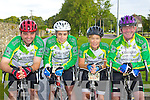 Killorglin cyclists at the Ring of Kerry cycle on Saturday l-r: Patrick Sugrue, Mary Casey, Angela O'Connor and John O'Shea..