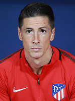 Atletico Madrid's forward Fernando Torres