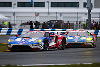 26-29 January, 2017, Daytona Beach, Florida USA<br /> 67, Ford, Ford GT, GTLM, Ryan Briscoe, Richard Westbrook, Scott Dixon<br /> &copy;2017, Barry Cantrell<br /> LAT Photo USA