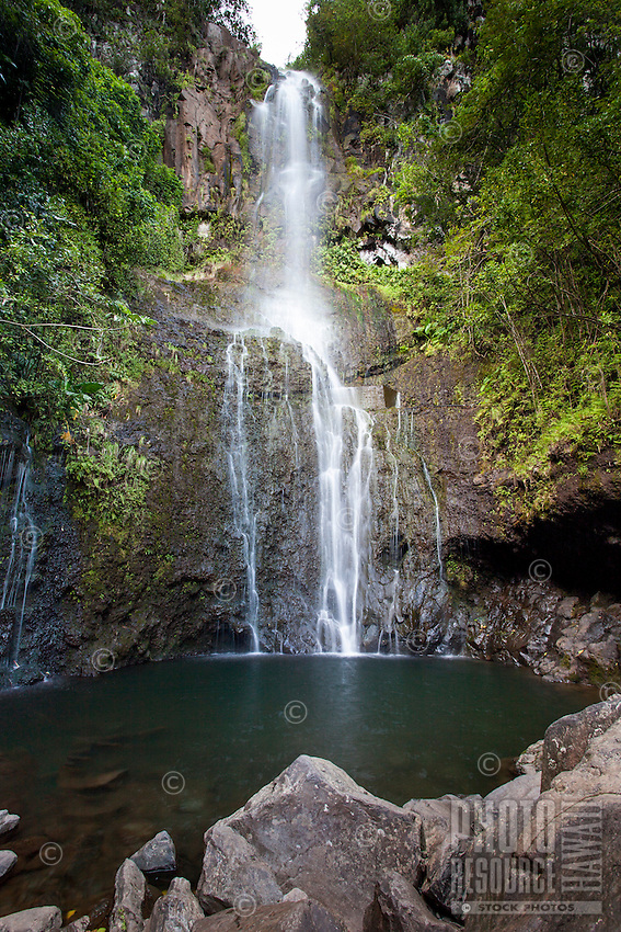Wailua Falls, Hana, Maui.