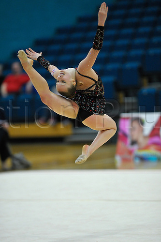 26.06.2011 British Rhythmic Gymnastics Championships from Fenton Manor in Stoke on Trent...Keziah Gore in action