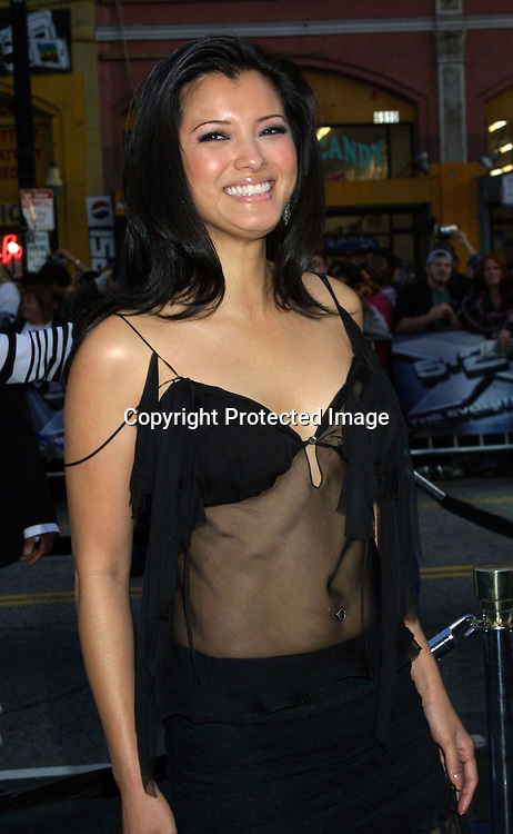 ©2003 KATHY HUTCHINS / HUTCHINS PHOTO.X2:  X-MEN UNITED PREMIERE.GRAUMAN'S CHINESE THEATER.HOLLYWOOD, CA.APRIL 28, 2003.KELLY HU